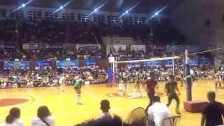 141028 unigames volleyball finals w dlsu nu set 2 7