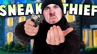 Video MEANEST HOME INVADER AROUND! - New Level (The Neighborhood) - Sneak Thief Gameplay download MP3, 3GP, MP4, WEBM, AVI, FLV November 2017