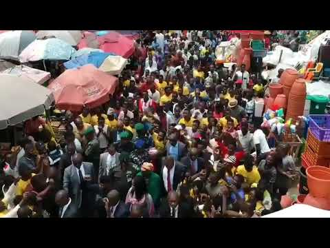 Jubilation at Utako market as Osinbajo inaugurates TraderMoni