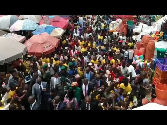 Jubilation at Utako market as Osinbajo inaugurates TraderMoni