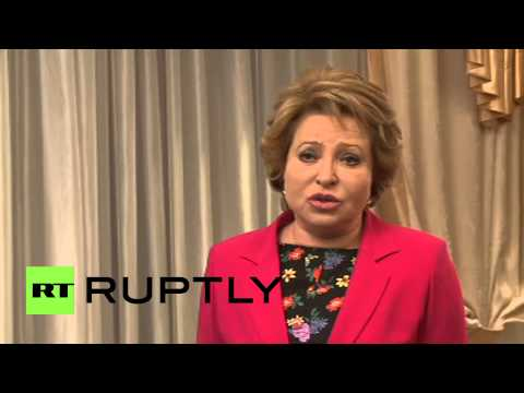 "Russia: Federal Council head Matviyenko pays respects to ""mentor"" Primakov"