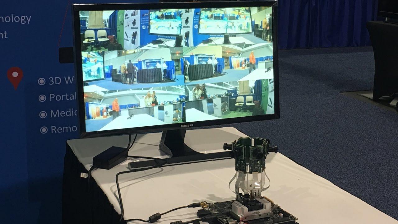 Live Demo : Multiple Camera solution for Nvidia Jetson TX1/TX2 at ESC  Boston 2017 | e-con Systems