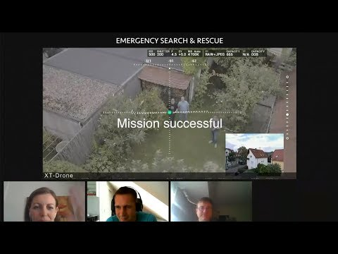 EMERGENCY DRONE VIDEO CONFERENCE