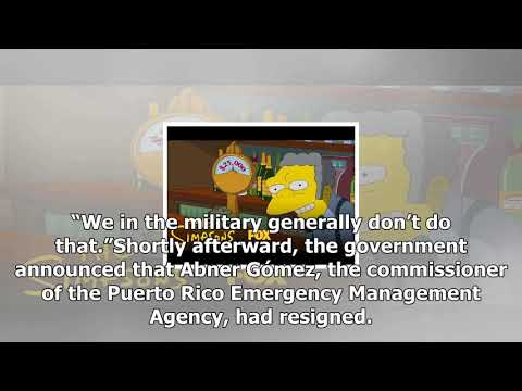 Emergency manager resigns in puerto rico; army ends its mission