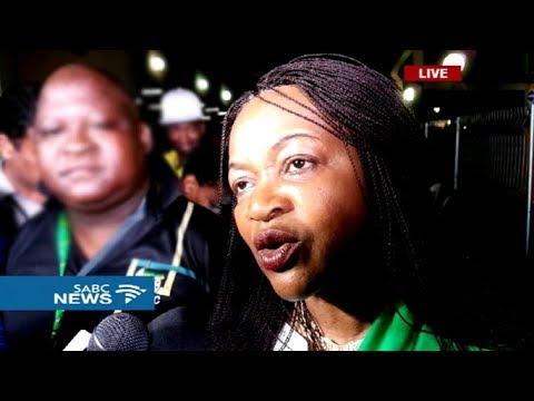Baleka Mbete withdraws her candidacy, endorses Ramaphosa campaign