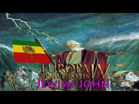 Europa Universalis IV: Jewish John, the Prester John achievement as a Jewish Ethiopia