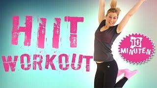 Ultimatives HIIT Workout in 10 Minuten das richtig reinhaut !   VERONICA-GERRITZEN.DE