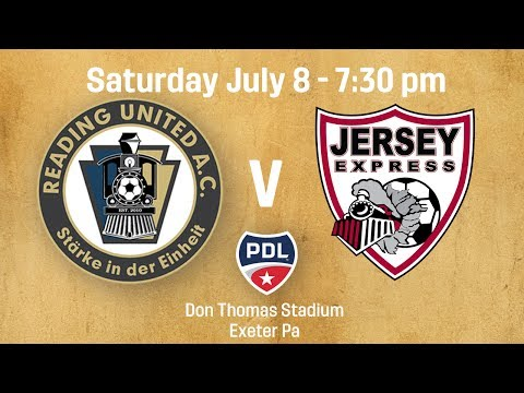 Reading United  vJersey Express