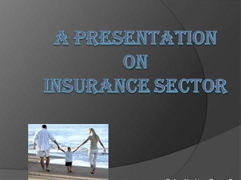 Insurance Sector Presentation