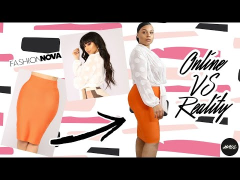 7cde183091 100% HONEST ONLINE VS REALITY FASHION NOVA TRY ON HAUL !! - YouTube