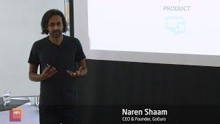Startup Talks @HPI: Naren Shaam, CEO of GoEuro