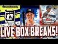 LIVE BOX BREAKS! 2017 Topps Chrome Baseball, 2017 Panini Donruss Optic, 2017 Topps Finest Baseball
