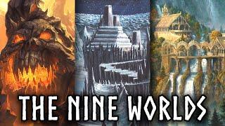 The COMPLETE Mythology Of The Nine Norse Worlds Norse Mythology Explained - Jon Solo