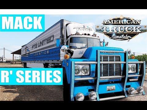 [ATS 1.32 Beta] MACK R SERIES   Full Tilled Logistics Fleet Drive   San Simon To Socorro