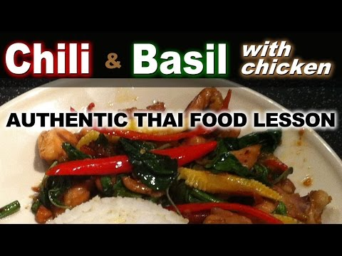 ... | Basil & Chili Stir Fry with Chicken - YouTube