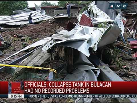 Water tank collapse kills 4, injures dozens in Bulacan