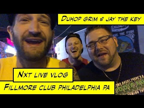 Duhop Brothers Attend WWE NXT Live At The Fillmore Philadelphia PA Vlog