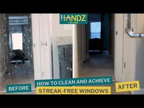 How to Clean and Achieve the Perfect Streak Free Glass, Window, or Mirror