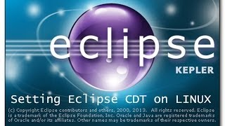 Setting Eclipse CDT for C C++ Development on Linux