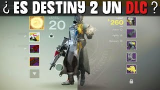 Destiny 1 VS Destiny 2 | ¿Es un DLC? | Haters...