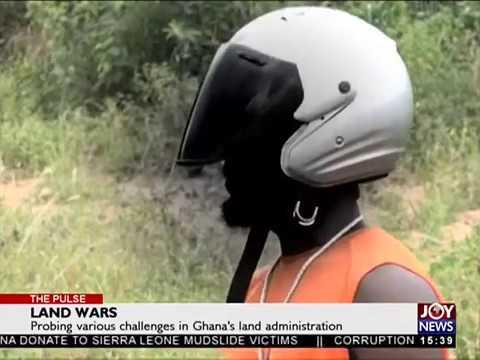 Land Guards - The Pulse on JoyNews (9-11-17)