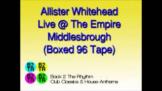 Allister Whitehead Live @ Sugar Shack - Middlesbrough Empire 1996