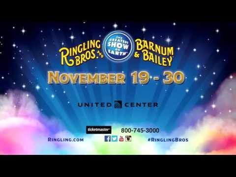 Ringling Bros. LEGENDS! - Nov. 17 - Nov. 30, 2014 - United Center, Chicago