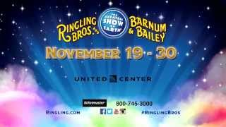 Ringling Bros. LEGENDS! - Nov. 17 - Nov. 30, 2014 - United Center, Chicago