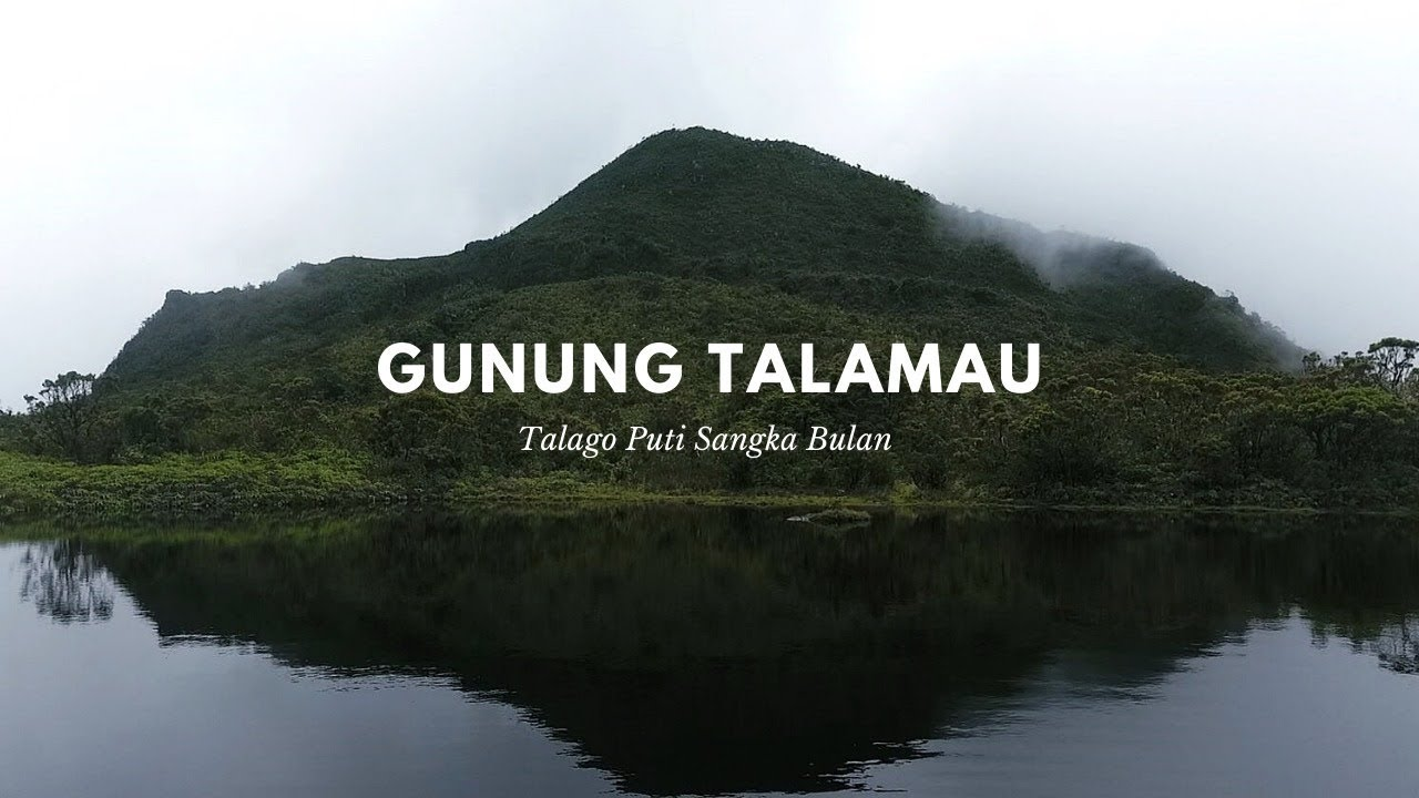 Pesona Gunung Talamau Dalam 2 Menit Drone Puncak Gunung Talamau