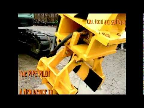 PipePilot,  Pipe Laying,  Materials Handling device,  Materials Handling equipment.