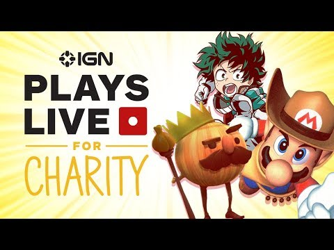 Childhood Cancer Awareness Stream - IGN Plays Live for Charity