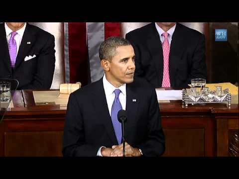 Obama Presents American Jobs Act- No Graphics-Full Speech