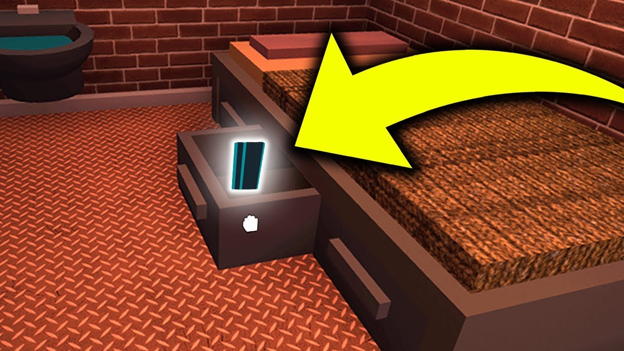 This Jailbreak Keycard Was Here For 7 Months Minecraftvideos Tv