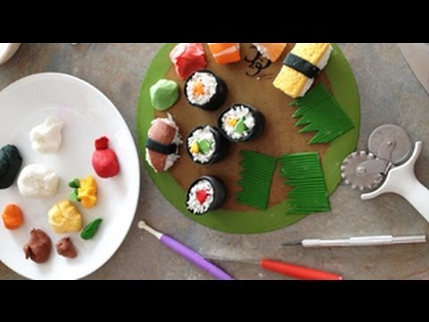 How to make sushi cake pop at homemade frosting