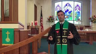 Worship July 26th at Central Christian Church, New Albany