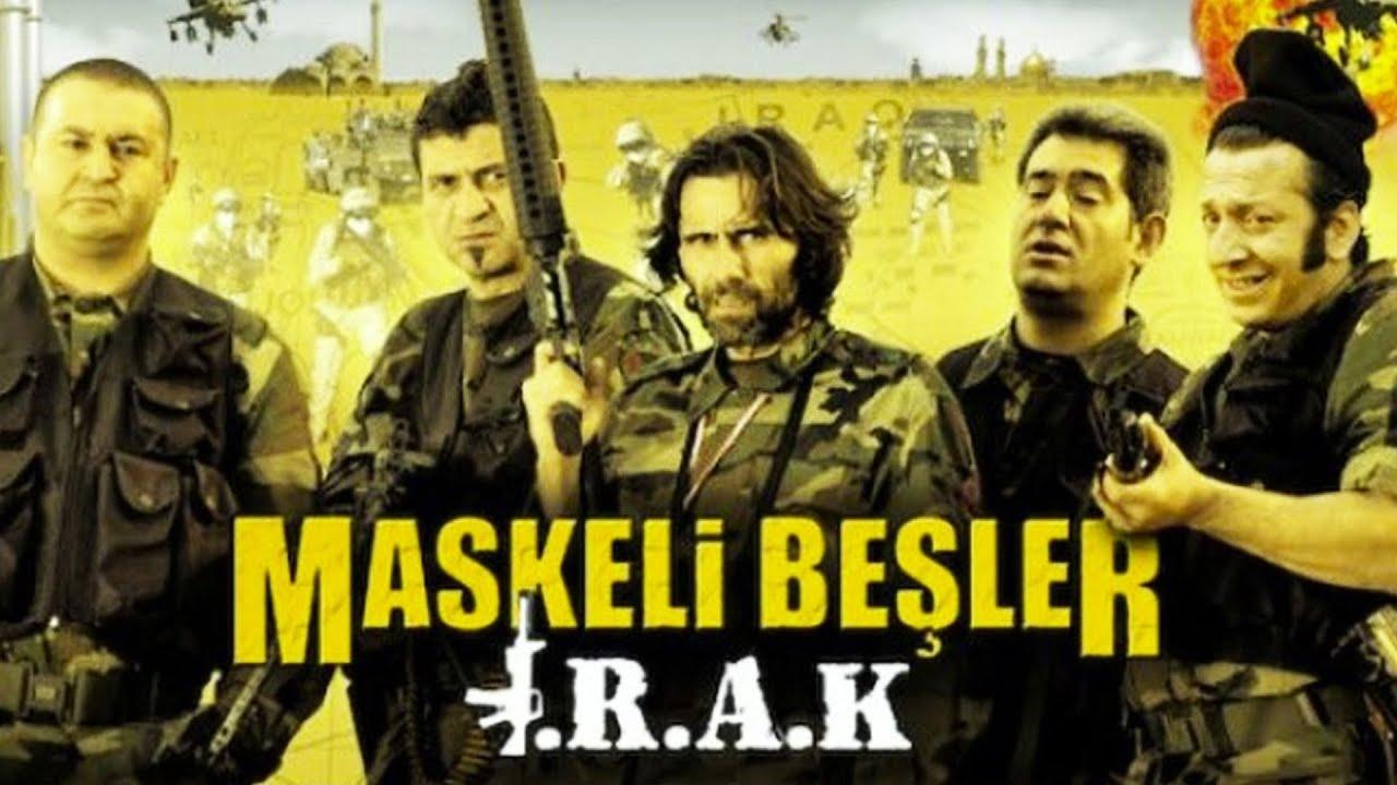 Maskeli Beşler Irak | Türk Komedi Filmi Tek Parça