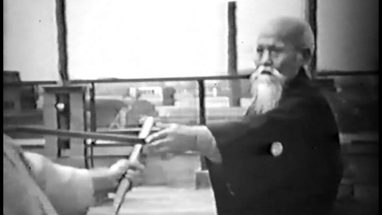 Morihei Ueshiba O Sensei - Rare Aikido Demonstration (1957) 合気道植芝 盛平 -  YouTube