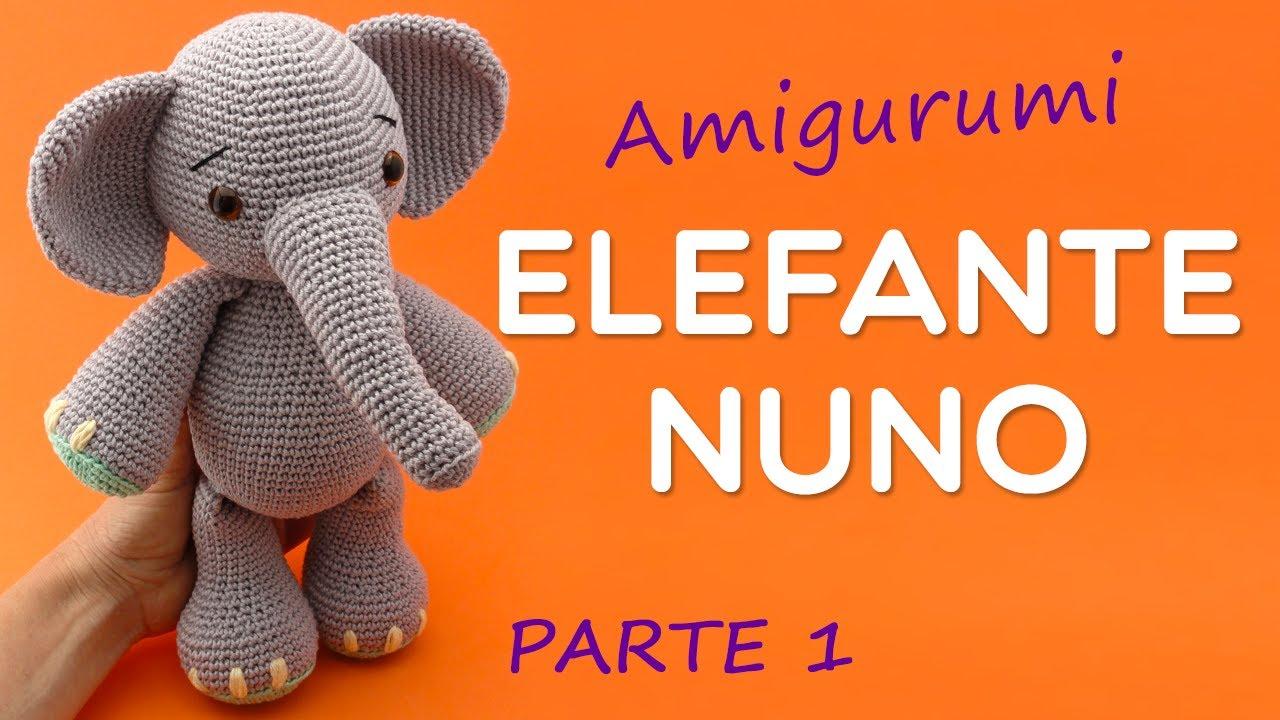 Elefante de Crochê Rosa | Elefante de crochê, Amigurumi de croche ... | 720x1280
