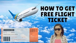 How to get  a free flight ticket from Jet airways