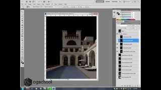 3ds Max Export Multiple Render Passes (EXR) into Photoshop Extended