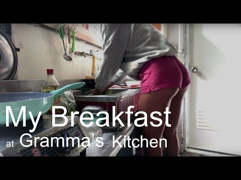Fitness #1 My breakfast at grandma's kitchen 我的黯然銷魂飯 (無洋蔥無蛋版)