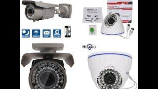 Совместный обзор AHD камер Techage & Hiseeu