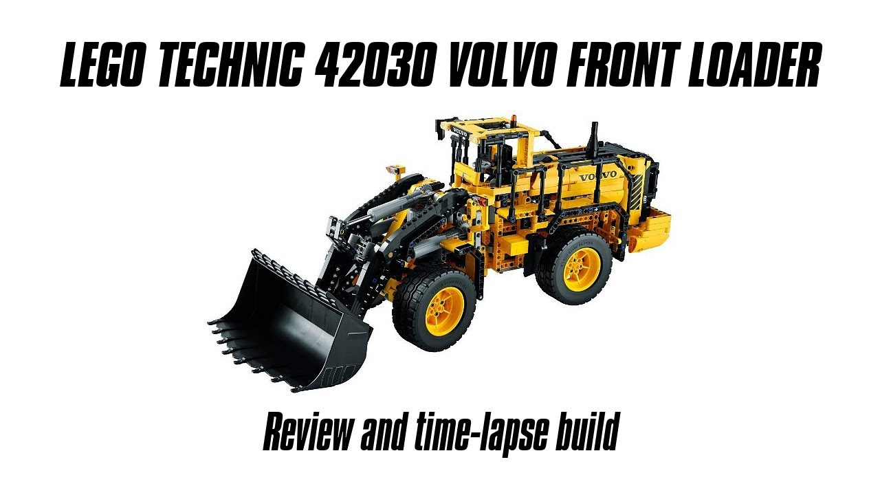 Wonderlijk Lego Technic 42030 Volvo Front Loader Build & Review - YouTube YC-95