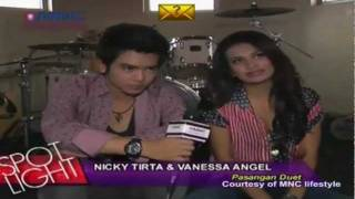 Nicky Tirta & Vanessa Angel TalkShow at SPOTLIGHT part 01 (28/12) Courtesy MNC lifestyle
