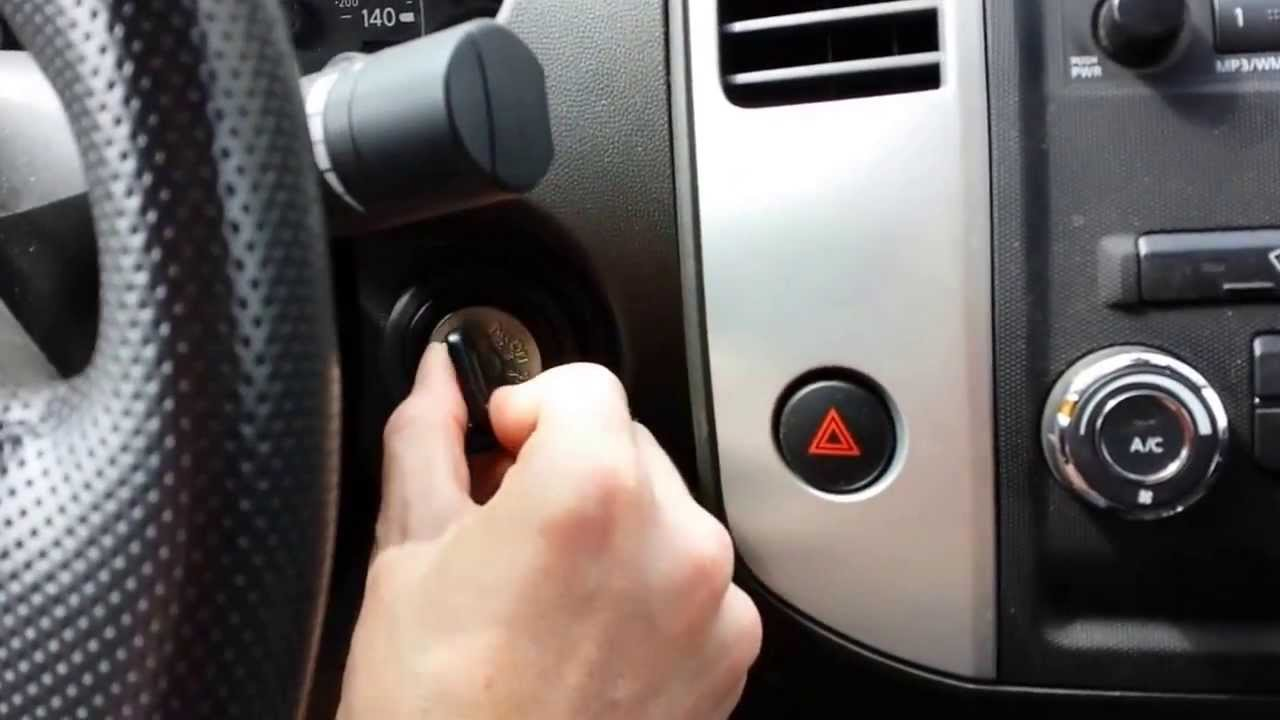 How To Program A Replacement Nissan Keyless Remote Key Fob