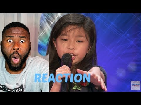 """9-Year-Old Celine Tam Stuns Crowd with """"My Heart Will Go On"""" - America's Got Talent 2017  REACTION"""
