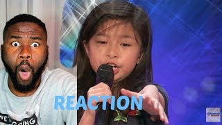 "9-Year-Old Celine Tam Stuns Crowd with ""My Heart Will Go On"" - America's Got Talent 2017