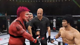 Sweet Tooth vs. Bruce Lee (EA sports UFC 2)
