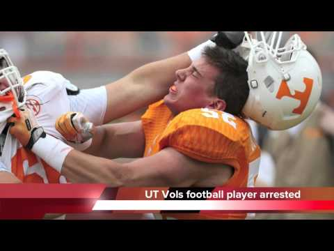 Andrew Lee Butcher arrested - Tennessee Vols football player