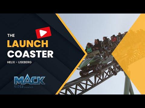 Mack Rides Launch Coaster Helix at Liseberg